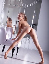Tempting striptease