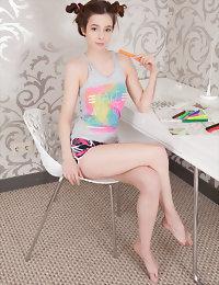Amazing hottie naked