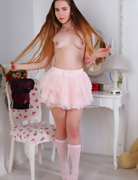 Dream girl posing naked